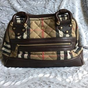 Authentic Burberry Large handbag tote